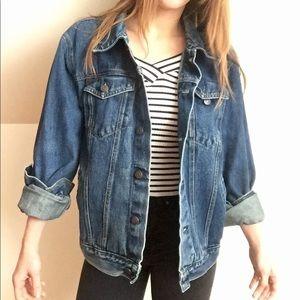Vintage dark blue denim jacket